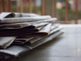 Kranten bezorgen